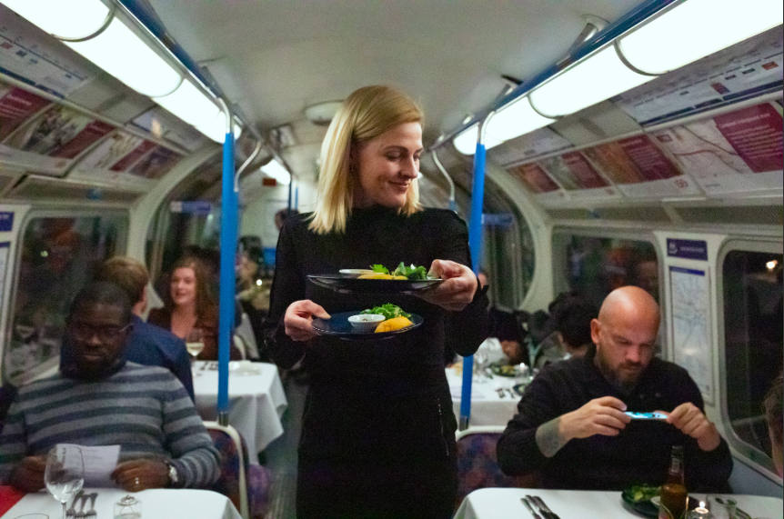 Dine on the Tube